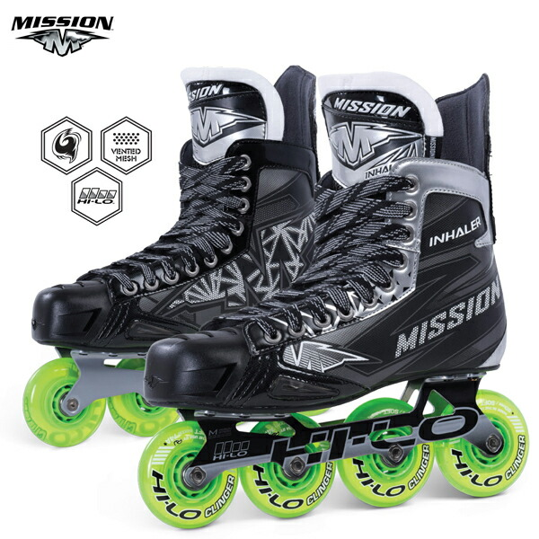 Mission INHALER NLS:04 Senior  Inline Hockey Skates Inlineskating-Artikel