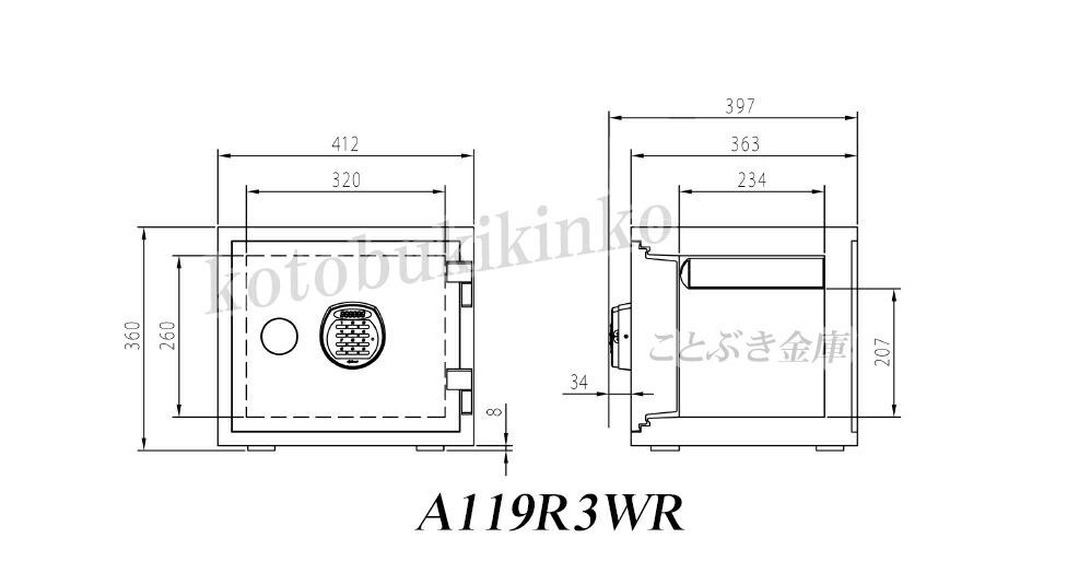 A119R3WRBLUE