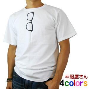 メガネだまし絵Tシャツ