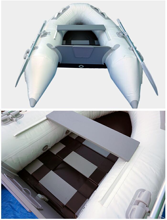 インフレータブルボートDL-B240 詳細写真