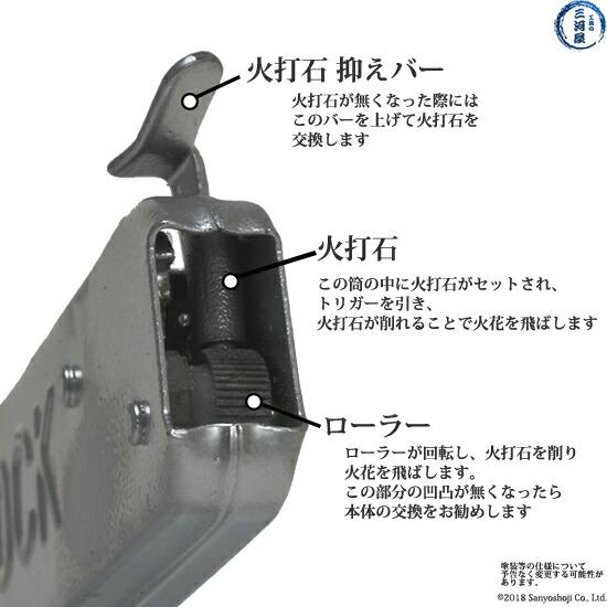 正栄産業(SHOEI) ロックライター あらゆるガスの点火に!摩耗