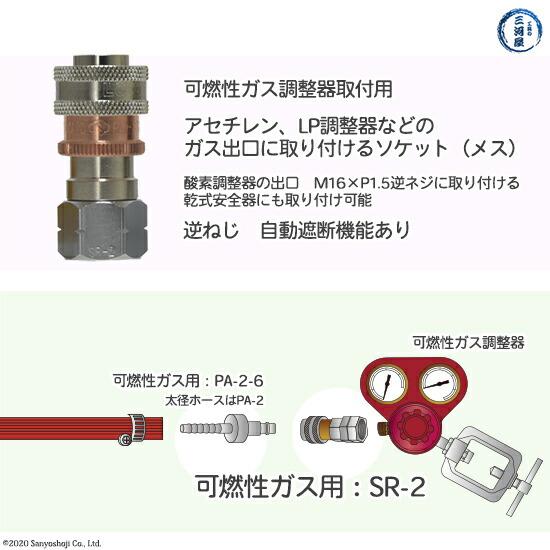 ヤマトゲージソケットSR2の特徴
