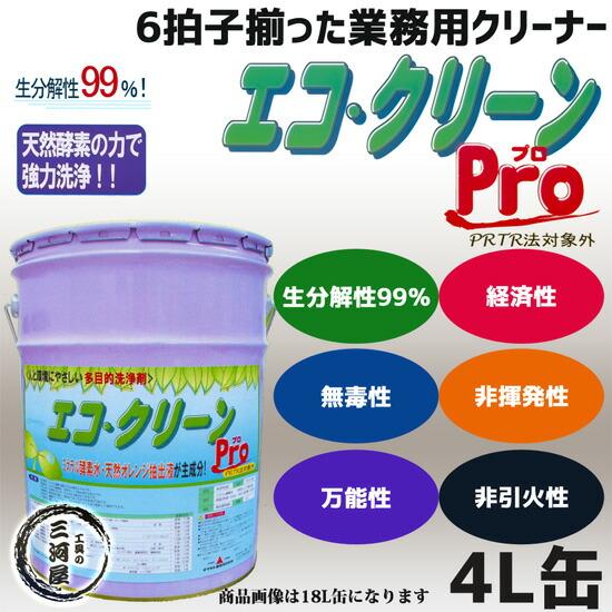 エコ・クリーン(エコクリーン)Pro 4L