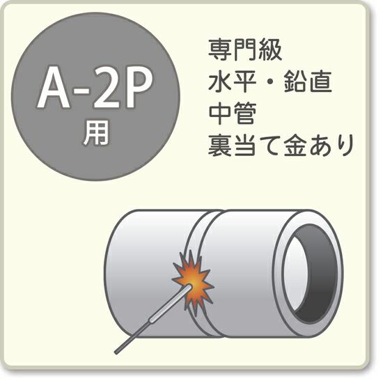 JIS溶接技能者資格試験 A-2P用アーク溶接棒S-16