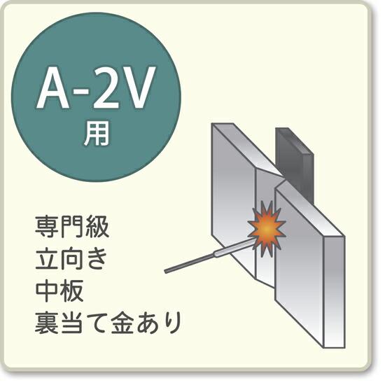 JIS溶接技能者資格試験 A-2V用アーク溶接棒A-14