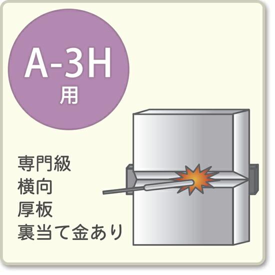 JIS溶接技能者資格試験 A-3H用アーク溶接棒S-16