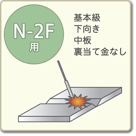 JIS溶接技能者資格試験 N-2F用アーク溶接棒S-16W、A-10