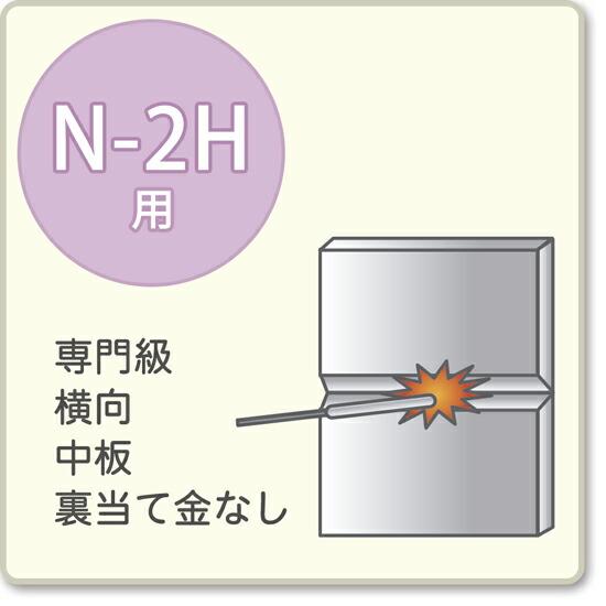JIS溶接技能者資格試験 N-2H用アーク溶接棒S-16W、S-16