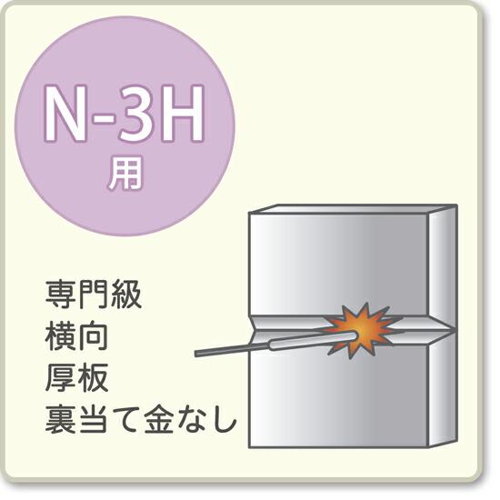 JIS溶接技能者資格試験 N-3H用アーク溶接棒S-16W、S-16