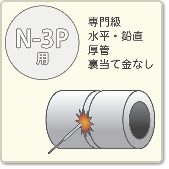 JIS溶接技能者資格試験 N-3P用アーク溶接棒S-16W、S-16