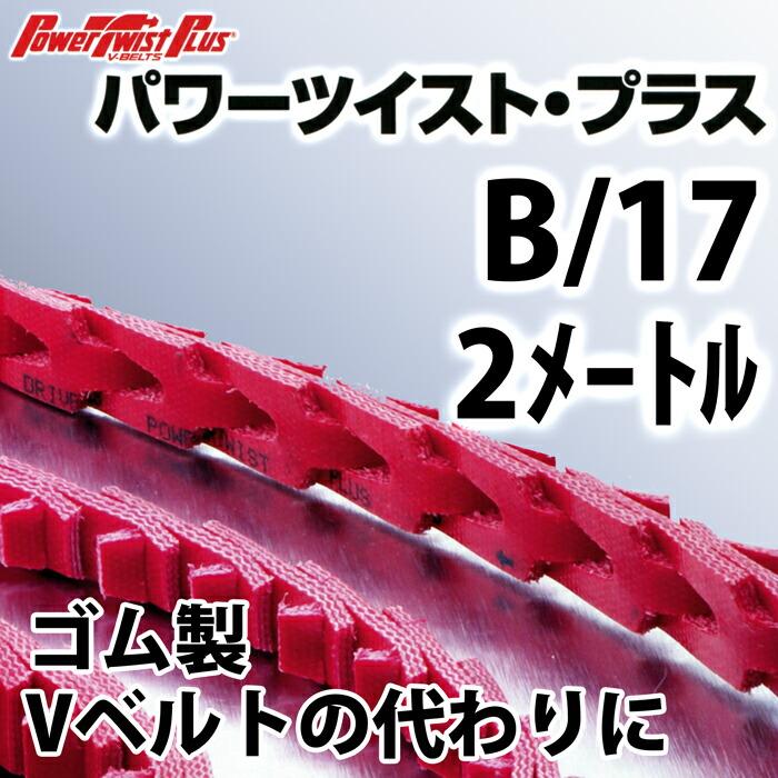 パワーツイスト・プラス B/17 2メートル