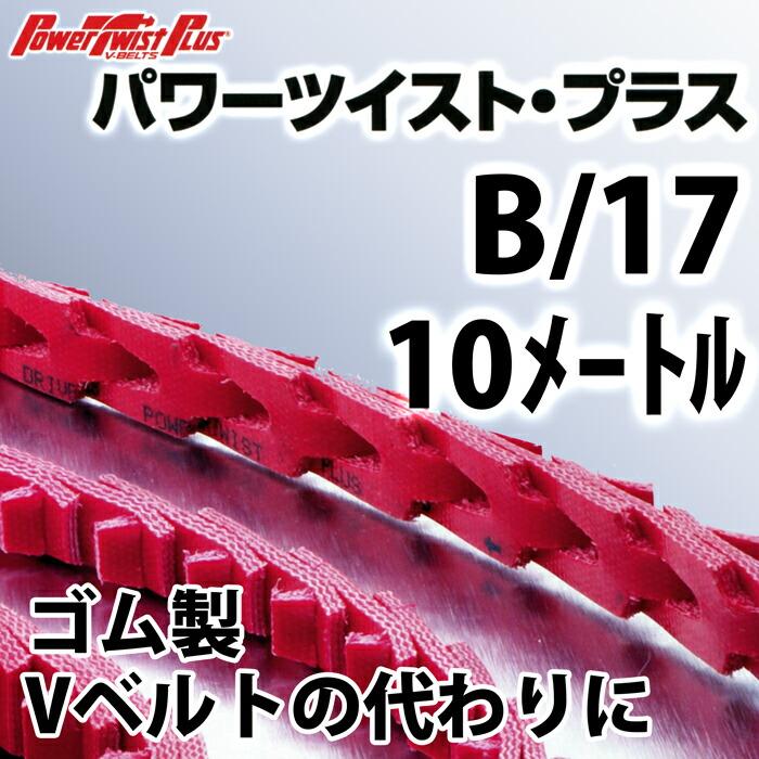 パワーツイスト・プラス B/17 10メートル
