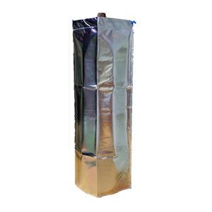 大中産業 ストロングサンアセチレンカバー(SA-AC)7kgアセチレン容器用ボンベカバー 反射材付 取付け3