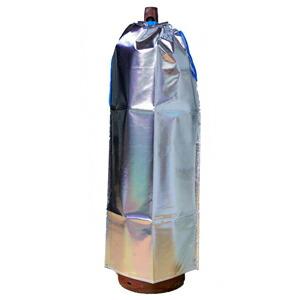 大中産業 ストロングサンアセチレンカバー(SA-AC)7kgアセチレン容器用ボンベカバー 反射材付 取付け4