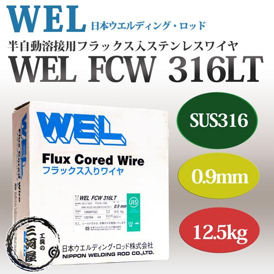 日本ウエルディングロッド WEL FCW 316 0.9mm 12.5kg
