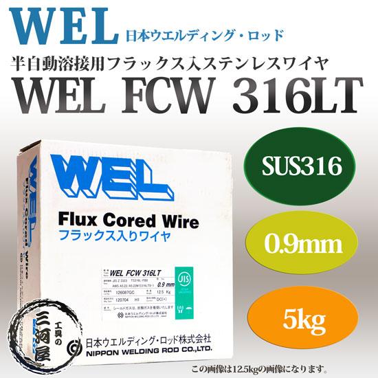 日本ウエルディングロッド WEL FCW 316 0.9mm 5kg
