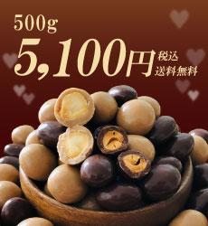 ナッツチョコ500g