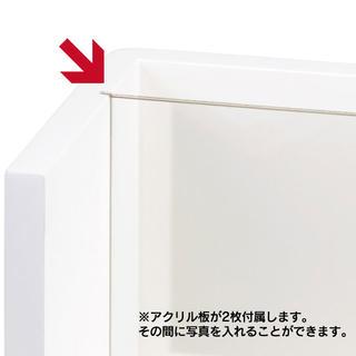 【メモリアルBOX M】 ホワイト