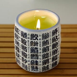 【緑茶】キャンドル