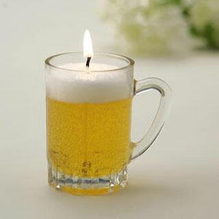 【生ビール】キャンドル