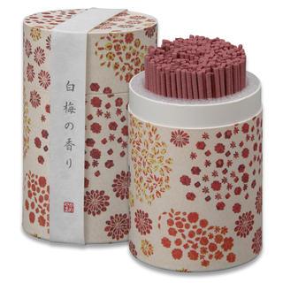 カメヤマ  ミニ寸線香 【和 遊】 (白梅の香り)