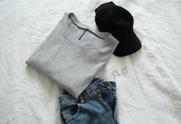 Big-T 半袖ビッグTシャツ BIWACOTTON ビワコットン