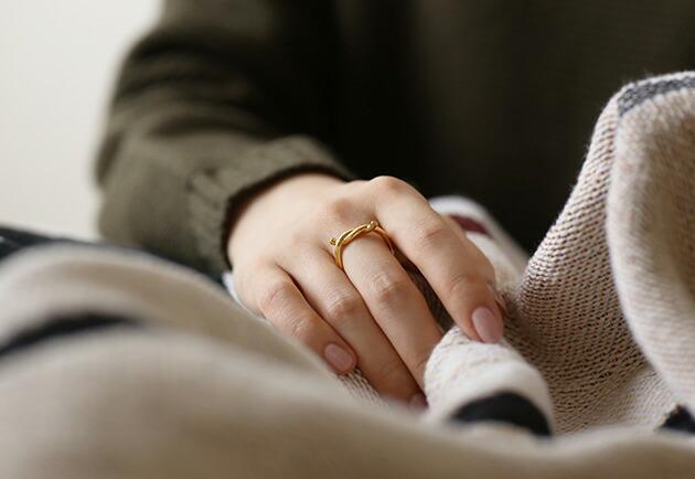 ENAMEL Knot Ring 約束のリング