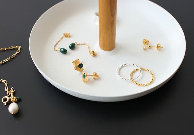 ENAMEL Simple Bubble Ring