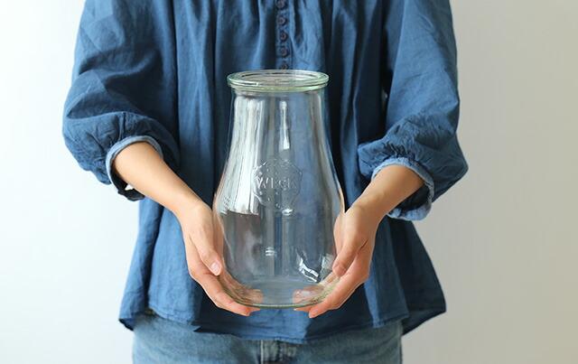 Big Glass Canister ビッグ ガラスキャニスター キャニスターの推奨サイズ