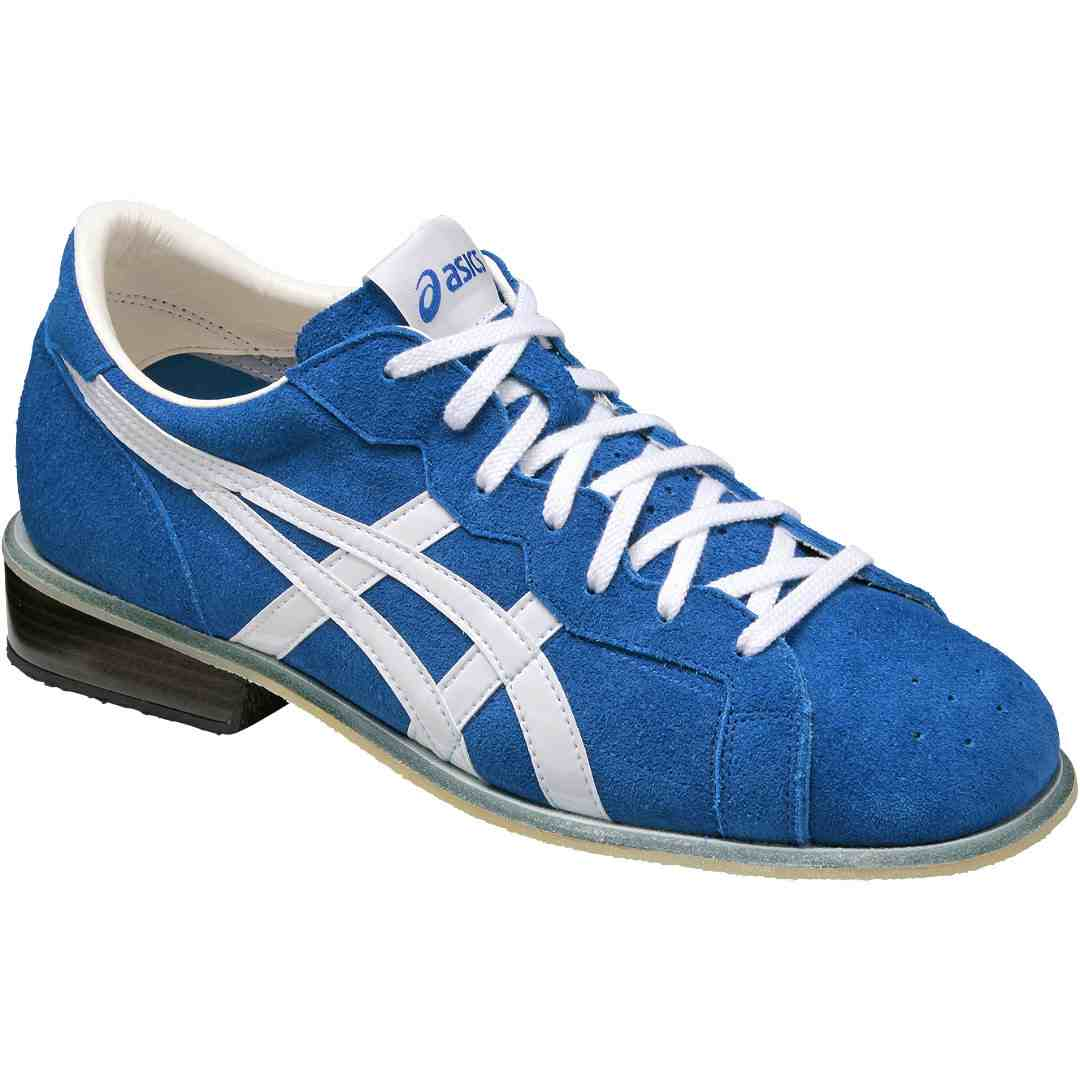 asics 727 tiger weightlifting shoes off