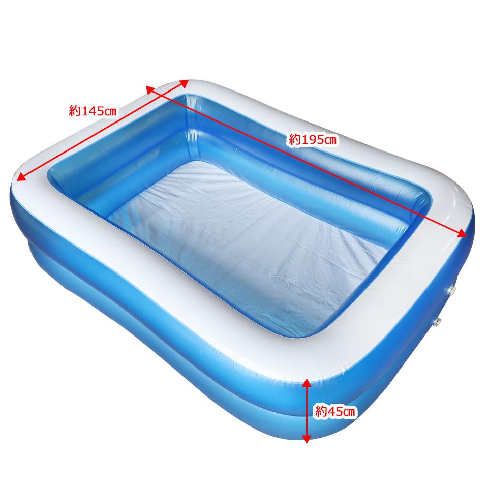 プール ビニールプール 大型 子供用 ベランダ 家庭用プール
