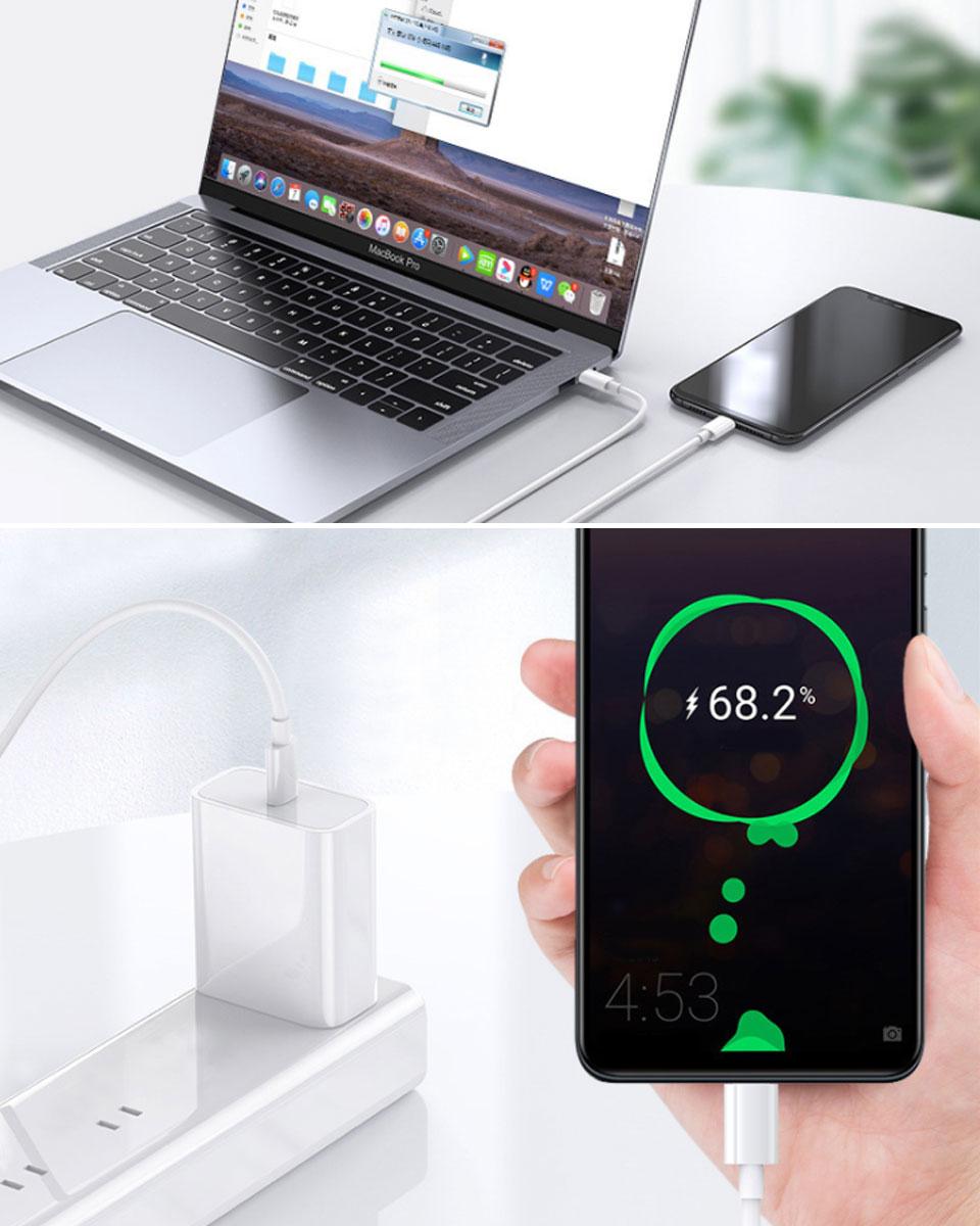 iphone 充電 ケーブル 1m Type-C ケーブル Type-C to Type-Cケーブル