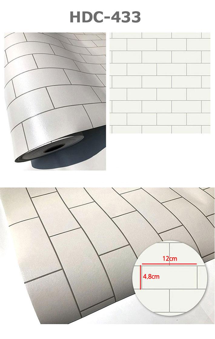 楽天市場 壁紙 白 シール サブウェイタイル柄の貼ってはがせる壁紙