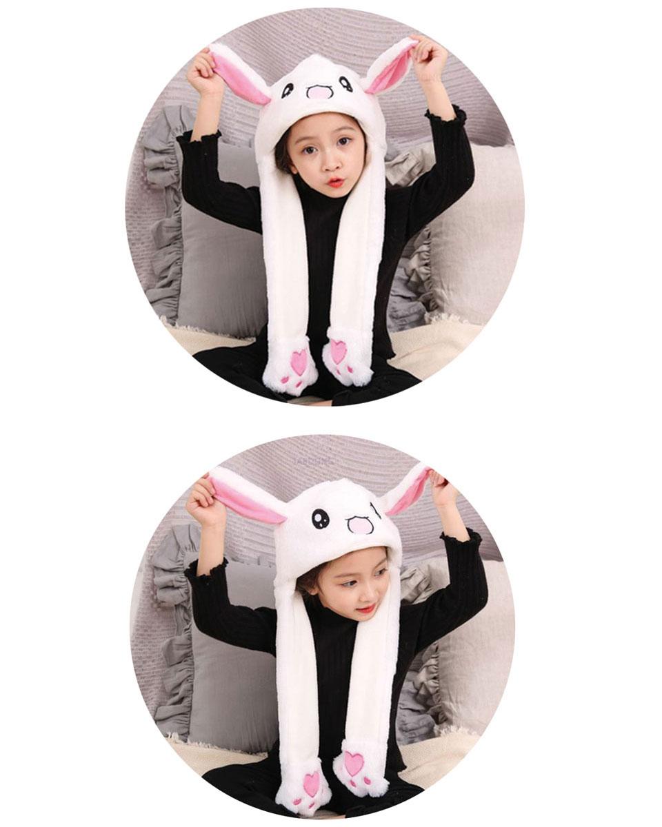 うさぎの耳が動く帽子 韓国