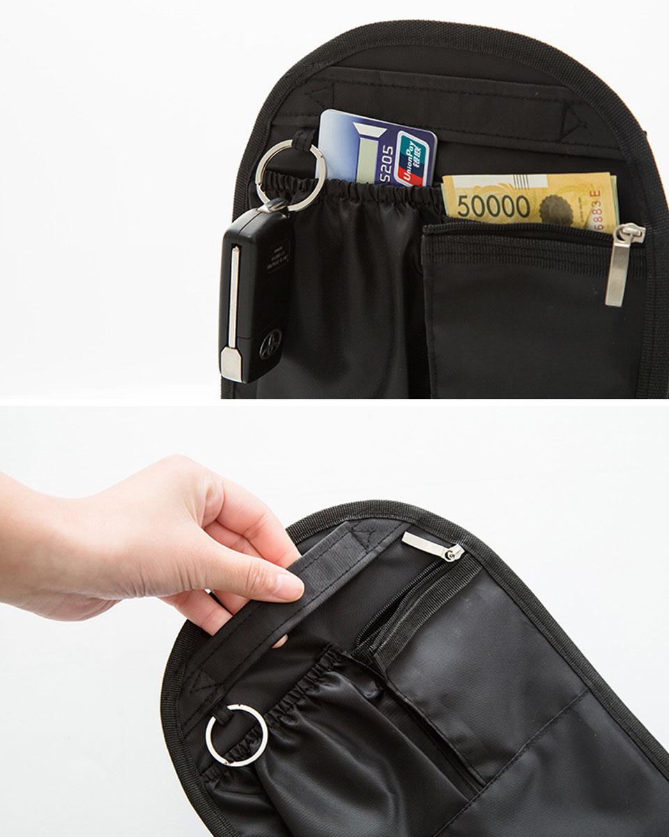 バッグインバッグ 自立 縦型 インナーバッグ 整理 軽い