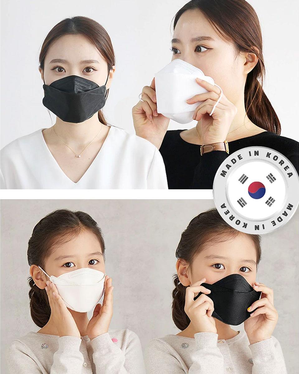 KF94 マスク 子供 子供用マスク 使い捨てマスク 4層構造 プレミアムマスク 不織布マスク 防塵マスク