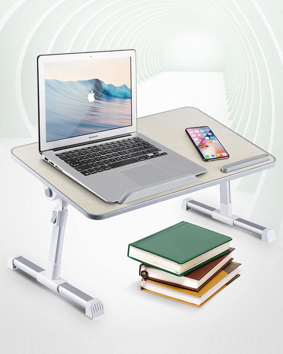 サイドテーブル 折りたたみ 昇降 テーブル 折り畳み パソコンデスク ノートパソコンデスク PCデスク