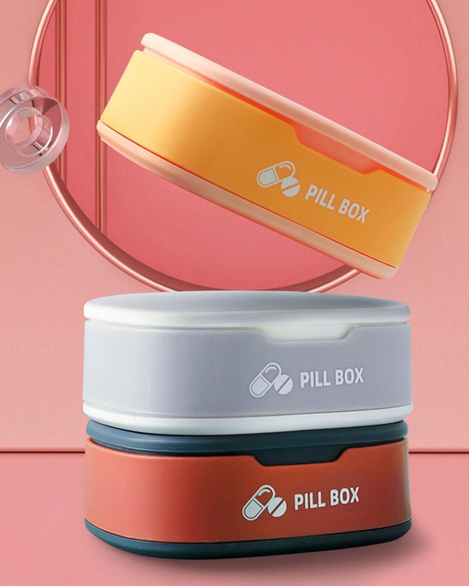 ピルケース かわいい 持ち運び 携帯 おしゃれ 薬ケース 薬入れ 薬箱 旅行 クスリ箱 くすりケース 薬ポーチ 錠剤ケース