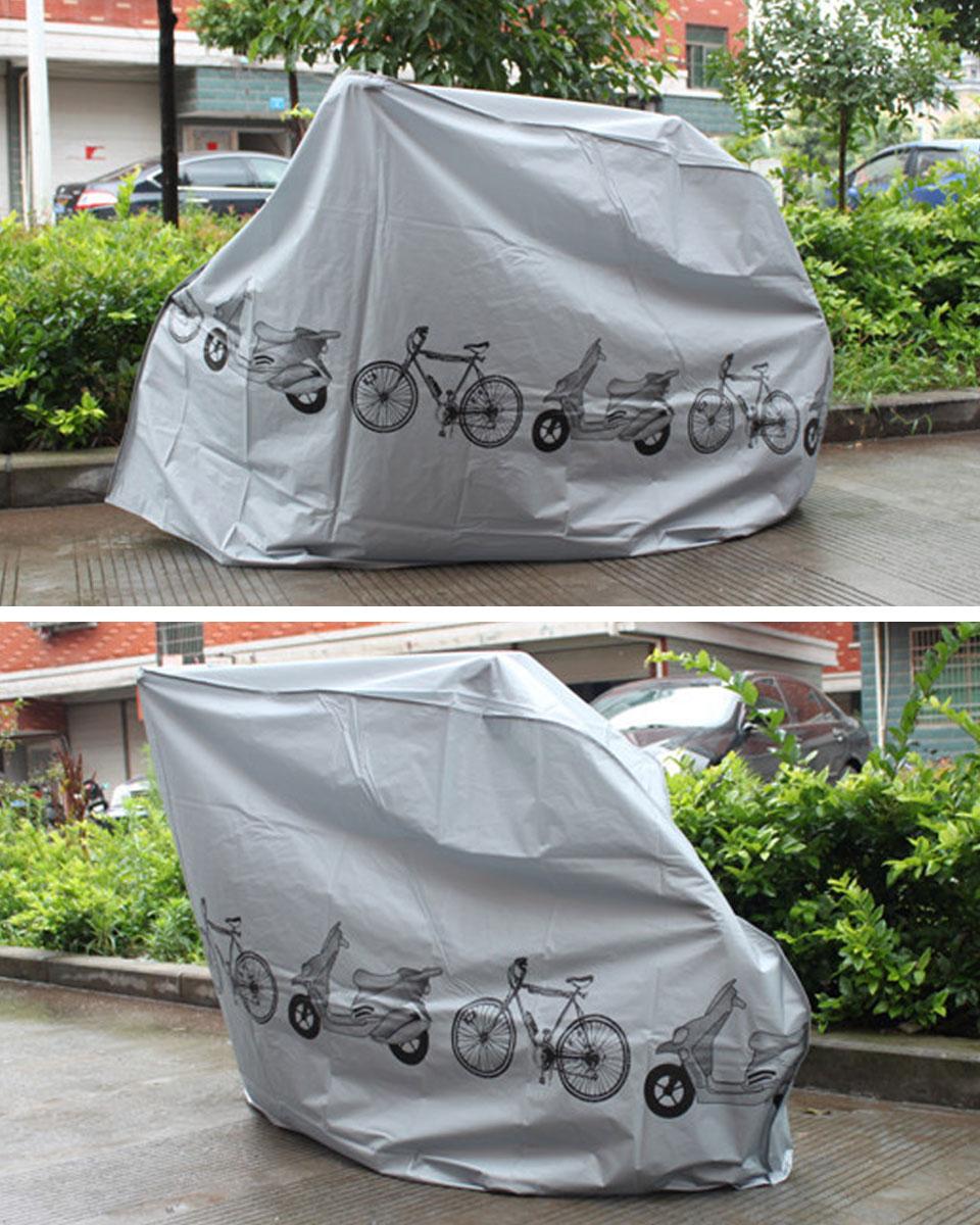 自転車カバー 厚手 防水 サイクルカバー 簡単 バイクカバー 原付