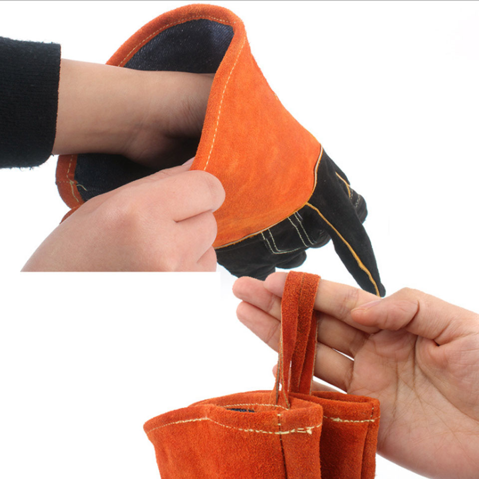 キャンプグローブ 耐火グローブ 耐熱グローブ 耐熱手袋 キャンプ手袋 革手袋 作業用手袋