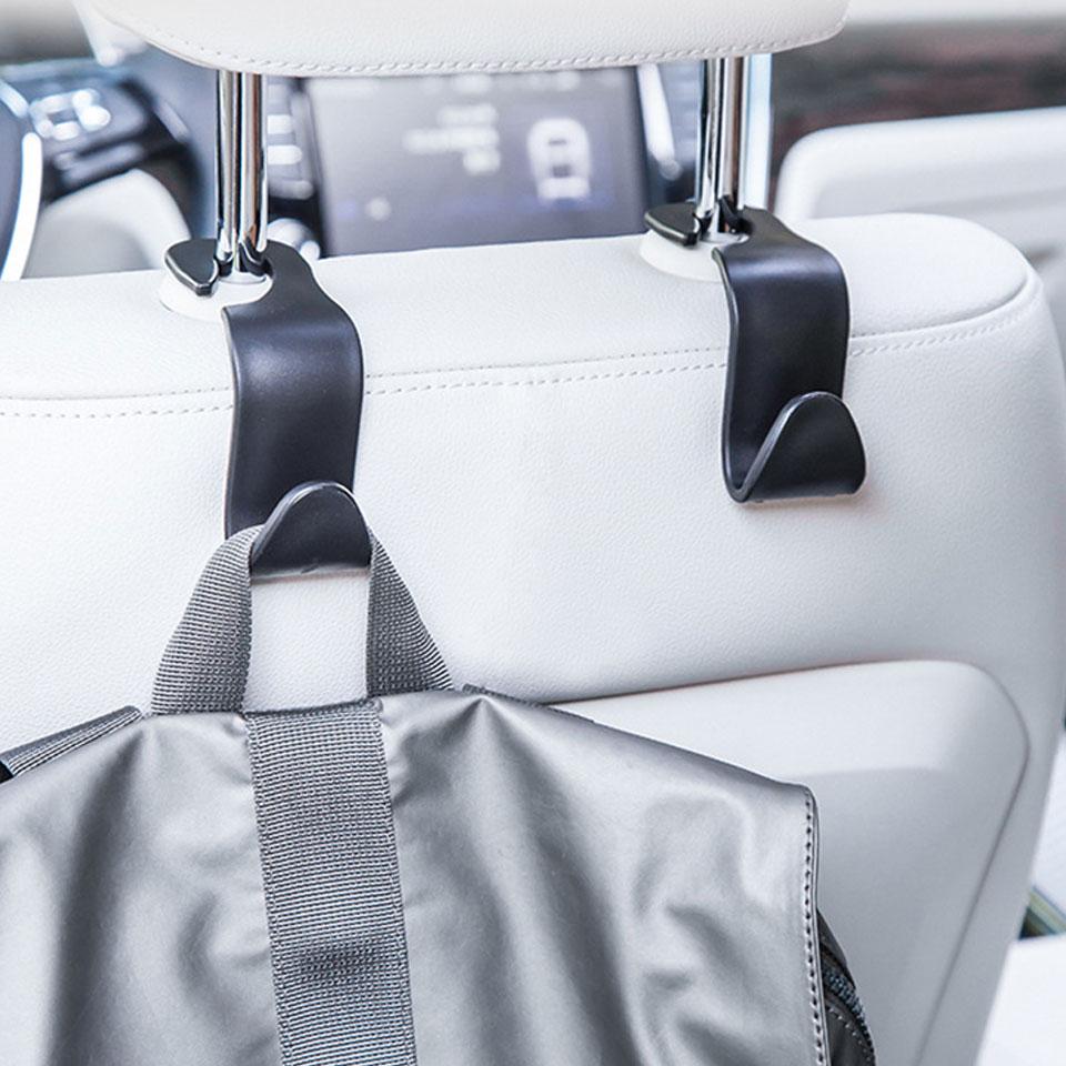 車 ヘッドレストフック 車用荷物フック 車用収納フック 車内収納マルチフック 車載ホルダー 荷物フック カー用品