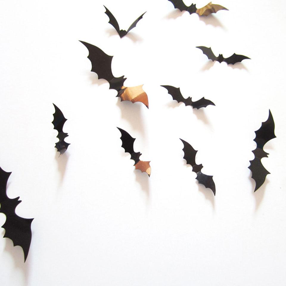 ウォールステッカー ハロウィン 飾り コウモリ 3d 装飾 ハロウィン 壁 飾り パーティ デコレーション 飾り付け