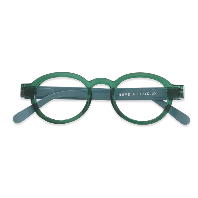 ciecle twist green lightblue