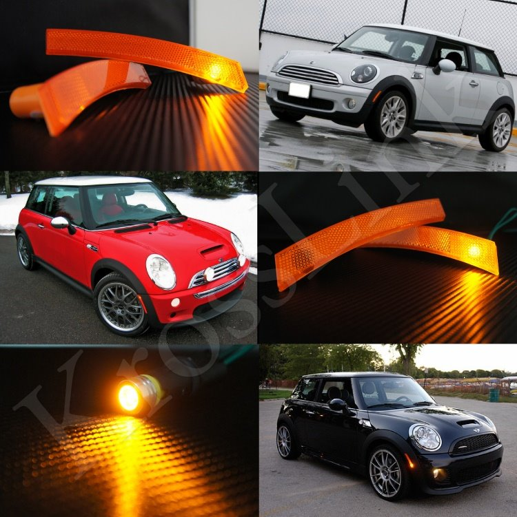 Krosslink rakuten global market mini cooper mini parts side marker us front side marker set Mini cooper exterior accessories