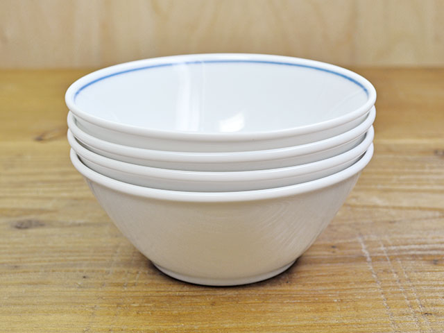 藍common 菱市松 11cm 小鉢