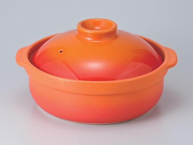 宴土鍋ベイクオレンジ