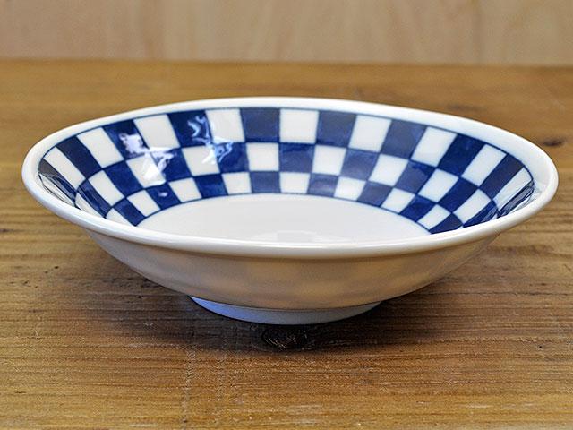 軽量 市松4.5浅鉢