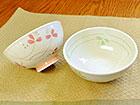軽量ダイエット茶碗 花柄