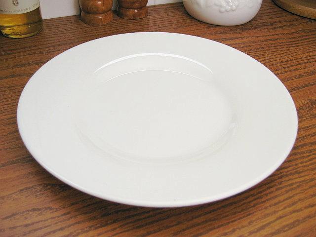 白い食器シーニュ「丸皿」