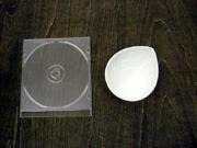 白い食器フォンテ デュードロップボール10cm
